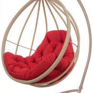 Кресло подвесное из ротанга – Хелена