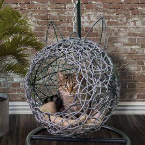 Подвесное кресло для кошек
