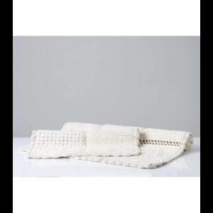 Набор ковриков Irya – Sandy ekru молочный 65*100+45*65