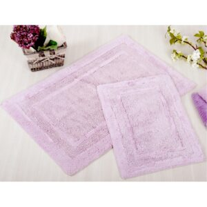 Набор ковриков Irya – Superior lila лиловый 60*90+40*60
