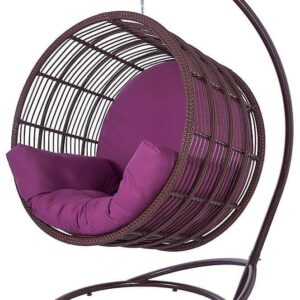 Подвесное кресло из ротанга – Престиж