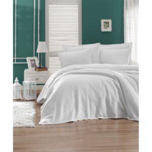 Покрывало пике Enlora Home – Casuel beyaz белый вафельное 200*235