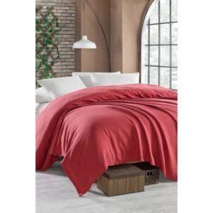 Покрывало пике Enlora Home – Casuel k.kirmizi красный вафельное 200*235