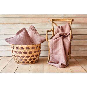 Покрывало с наволочками Karaca Home – Charm bold a.murdum светло-фиолетовый 250*240 евро
