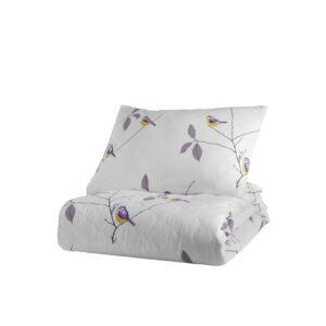 Покрывало стеганое с наволочками Enlora Home – Pavlina Beyaz белый 240*225